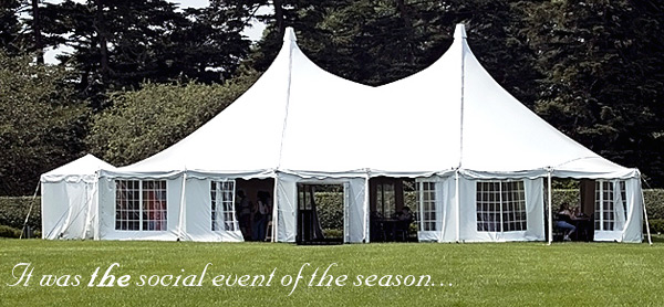 Make all your occasions as big as all outdoors & L u0026 A Tent Rentals Inc. I tent rentals tent planners event planners
