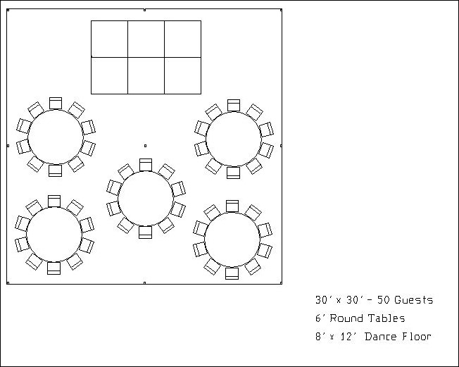Dance Floor Diagram 3