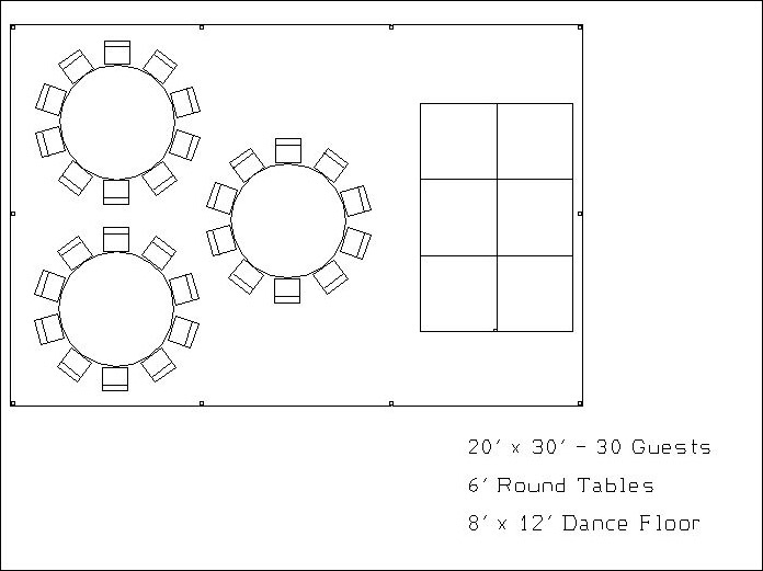 Dance Floor Diagram 4