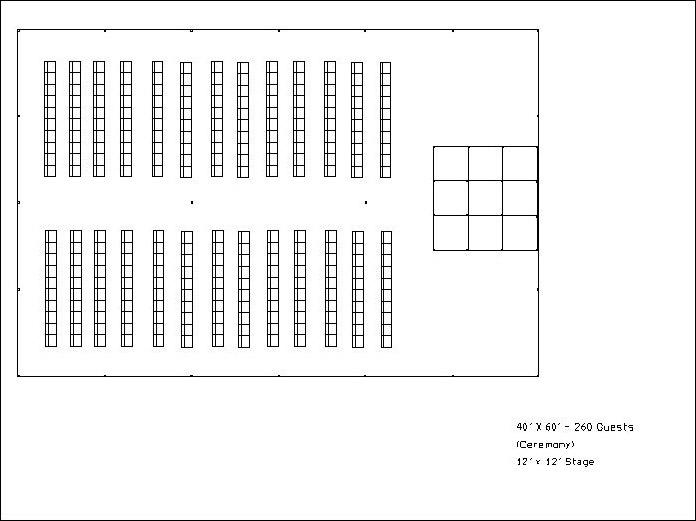 Seating Planner I Tent Rentals Arrangements